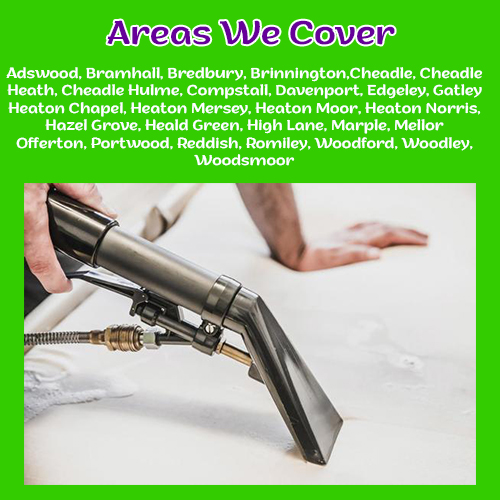 areas we cover heaton carpet cleaning